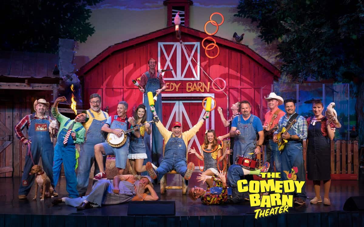 Buy Tickets - Comedy Barn Theater - Pigeon Forge TN