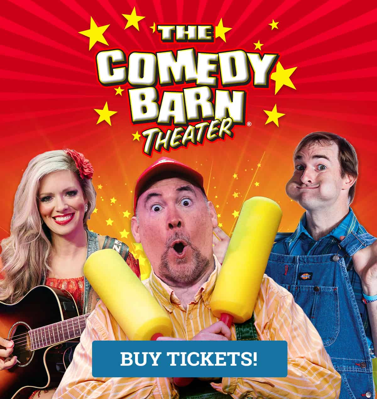 The Comedy Barn in Pigeon Forge TN