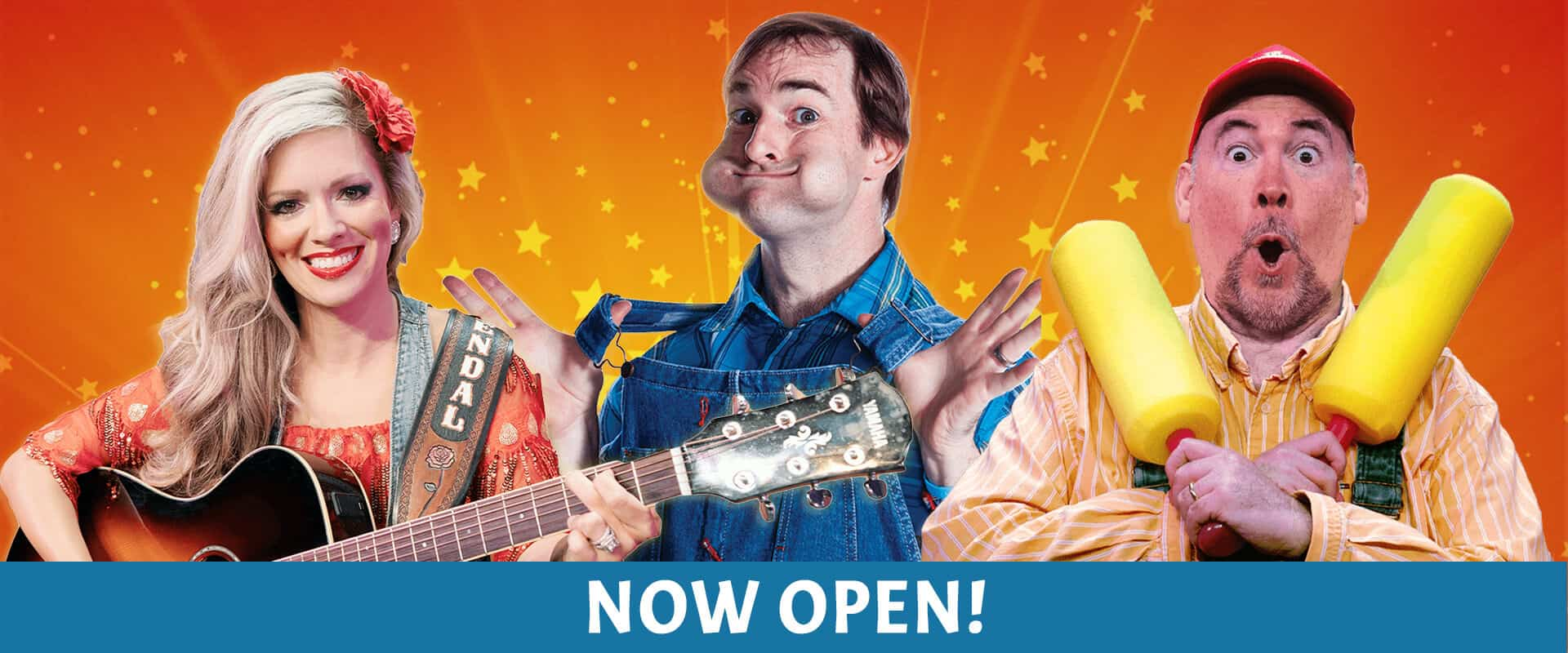 The Comedy Barn is Now Open!